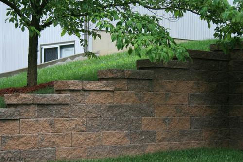 Walls Steps Landscape Design Outdoor Living